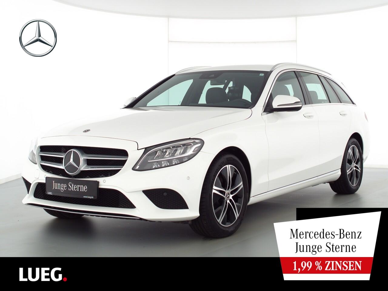 Mercedes-Benz C 180 T Avantgarde+Navi+LED-HP+AHK+eHeck+ParkAss, Jahr 2020, Benzin