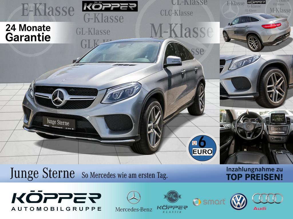 Mercedes-Benz GLE 500 AMG 4MATIC Coupé LIMITED Comand Styling, Jahr 2016, Benzin