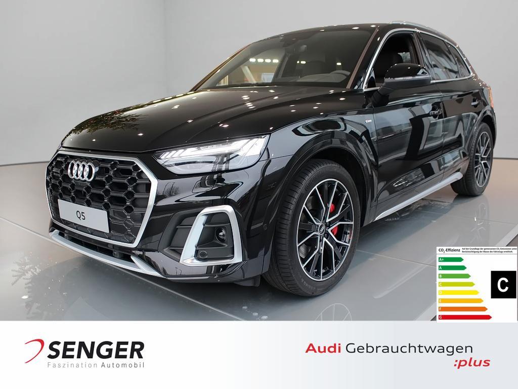 Audi Q5 50 TDI quattro Navi S line Leder B&O Tour LED, Jahr 2021, Diesel