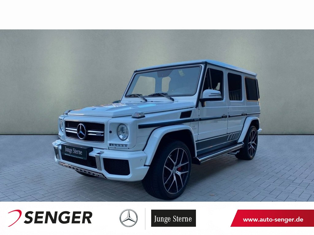 "Mercedes-Benz G 63 AMG ""Exclusive Edition"" Distronic AHK, Jahr 2018, petrol"