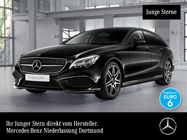 Mercedes-Benz CLS 400 SB AMG Fahrass Airmat Stdhzg Multibeam SHD, Jahr 2016, petrol