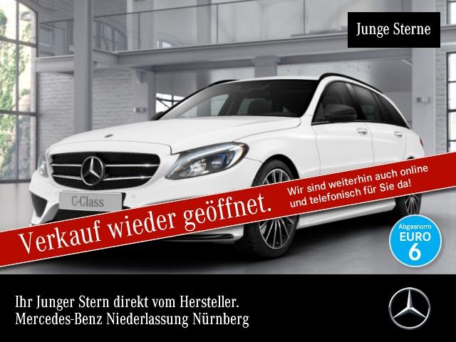 Mercedes-Benz C 300 h T AMG Airmat Burmester COMAND HUD LED PTS, Jahr 2017, Diesel