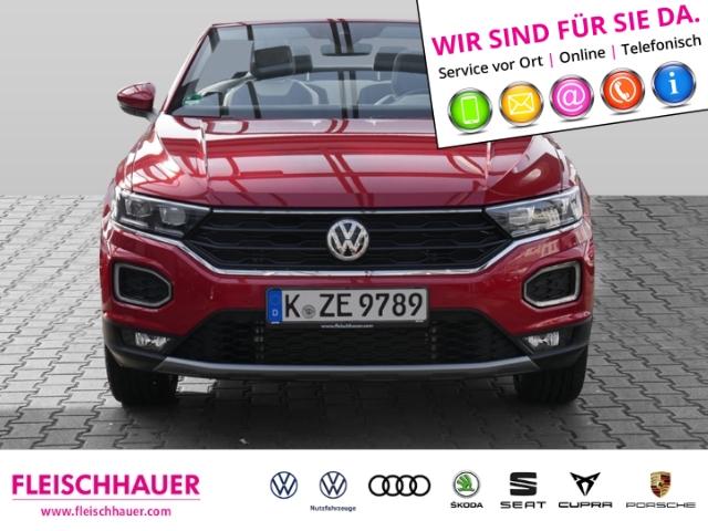 Volkswagen T-Roc Cabriolet Style 1.5 TSI NAVI LEDER ACC, Jahr 2020, Benzin