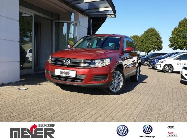 Volkswagen Tiguan Trend & Fun 2.0 TDI BMT Klima Navi, Jahr 2013, Diesel