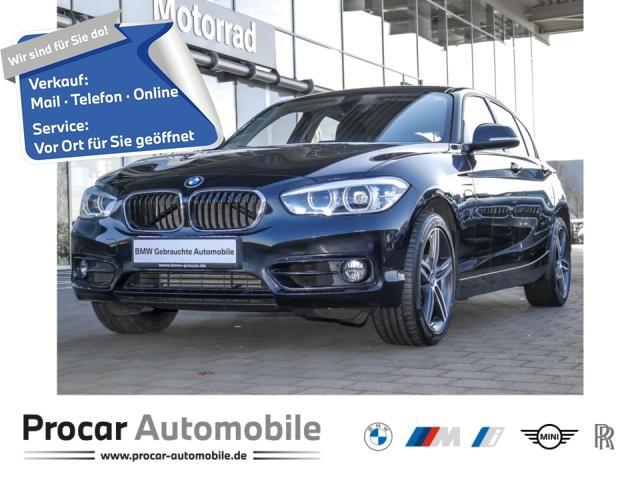 BMW 120d Sport Line Aut. Navi LED Leder PDC Klimaaut, Jahr 2017, Diesel