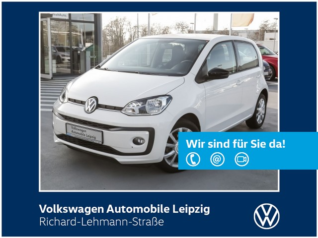 """Volkswagen up! """"club up!"""" 1.0 BMT *Climatic*maps + more dock*, Jahr 2017, petrol"""