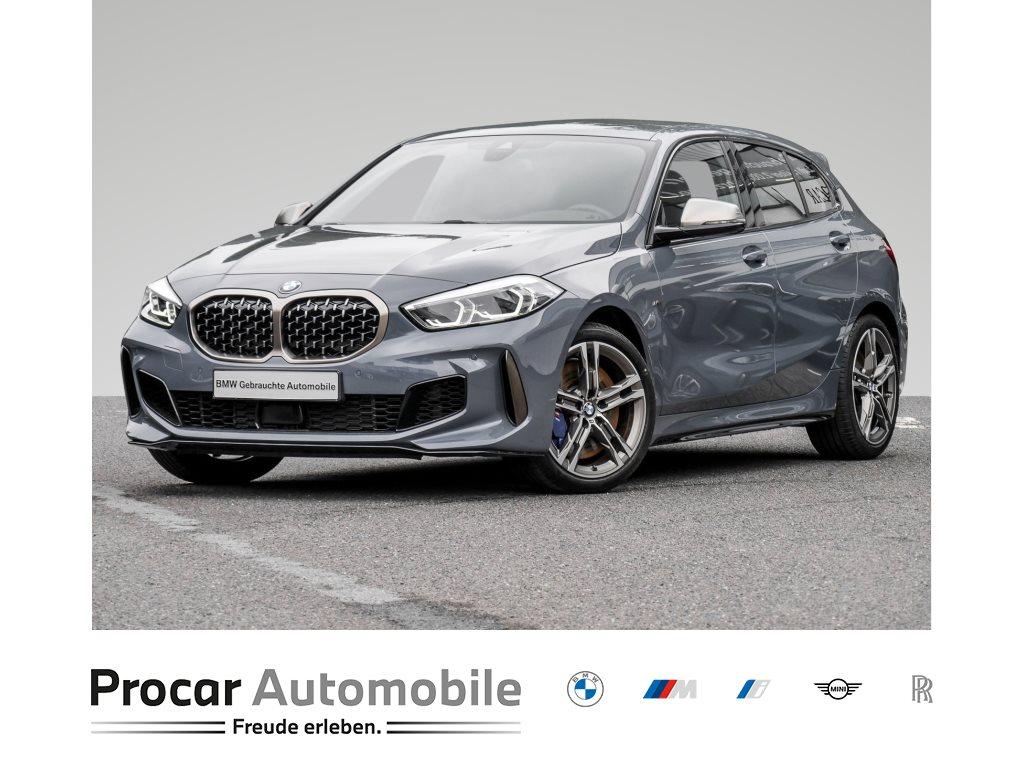 BMW M135i xDrive +LED+DAB+BUSI. PACK.+SITZHEIZUNG+M-HECKSPOILER++, Jahr 2020, Benzin