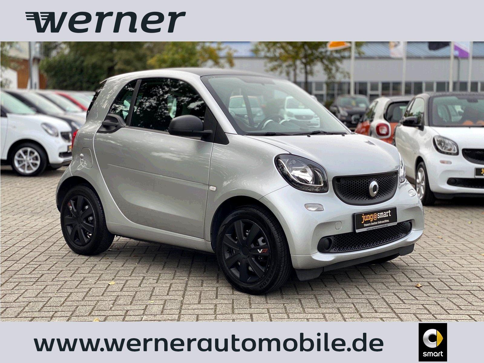 smart fortwo coupé 45 kW ~SERVO~ZV~JUNG@SMART~, Jahr 2016, Benzin