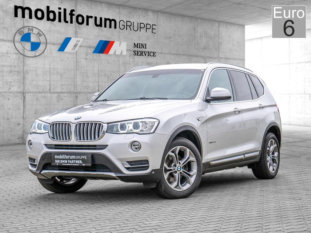 BMW X3 xDrive20d X-Line, Jahr 2014, Diesel