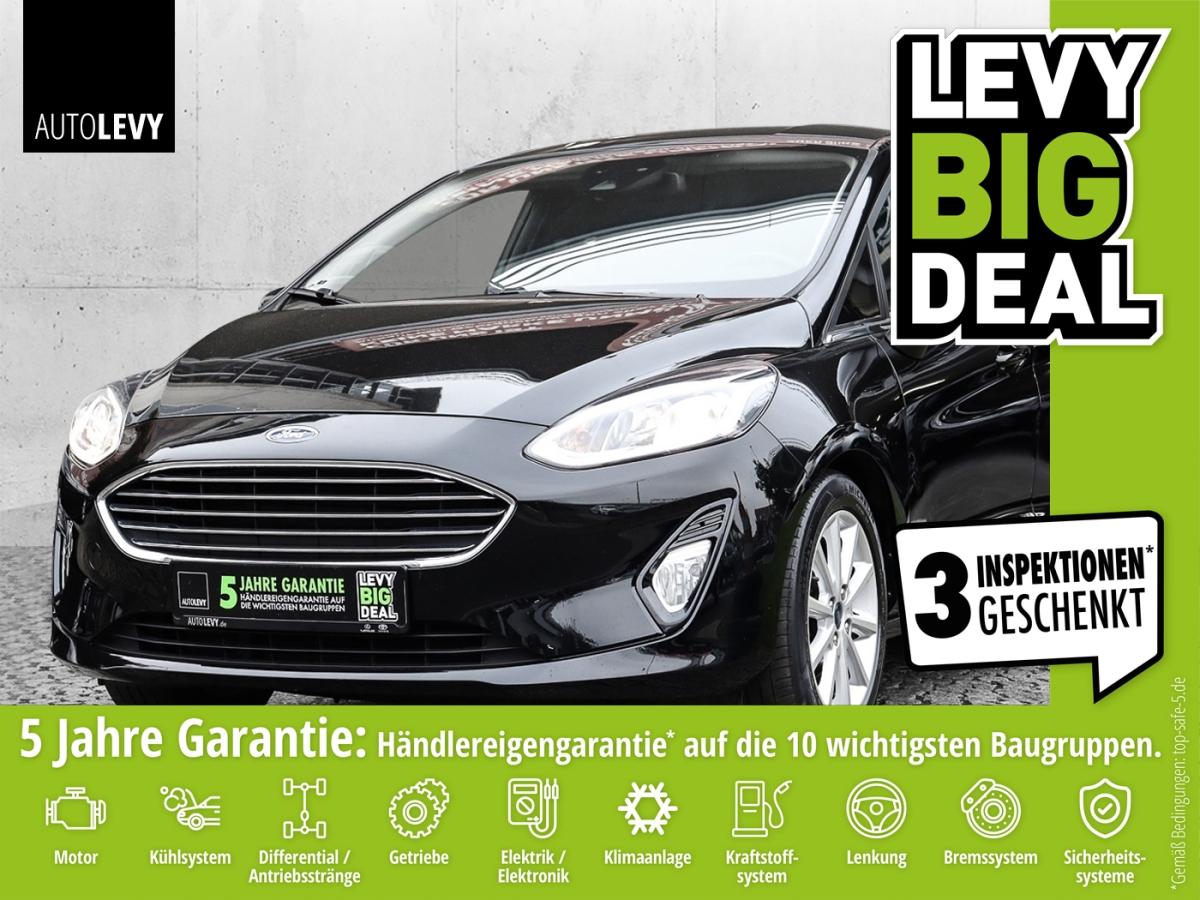 Ford Fiesta 1.0 Ecoboost Titanium *AppleCarPlay*, Jahr 2019, Benzin
