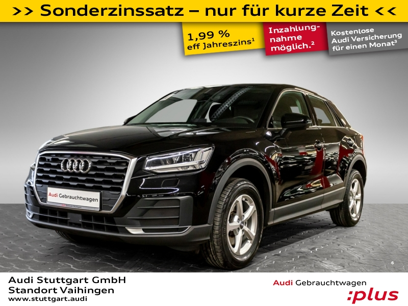Audi Q2 30 TFSI LED Keyless Sitzheizung LMF PDC, Jahr 2018, Benzin