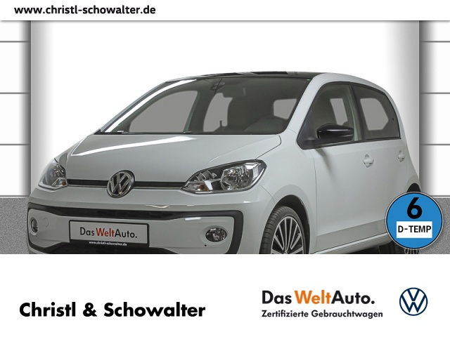 Volkswagen up! high up! 1.0 Maps+More Climatronic Bluetooth, Jahr 2019, Benzin