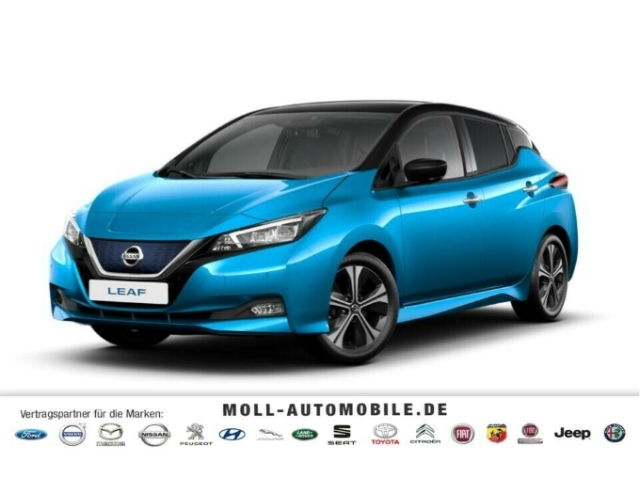 Nissan Leaf 40 kWh Tekna Bicolor Blau Schwarz, ProPilot, Jahr 2020, Elektro