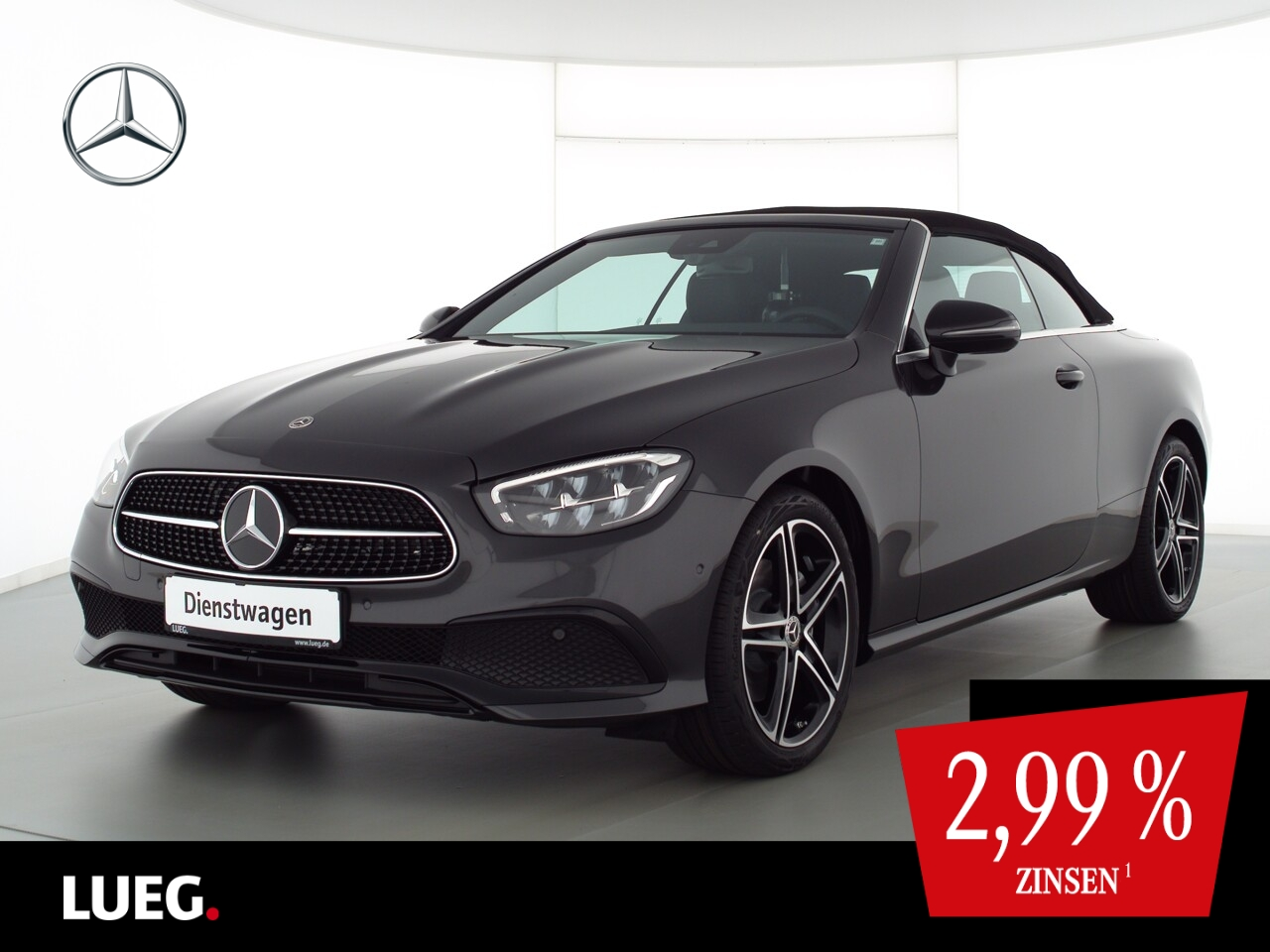 Mercedes-Benz E 200 Cabrio AVANTGARDE+NIGHT+19''+TOTW.+KAMERA, Jahr 2021, Benzin