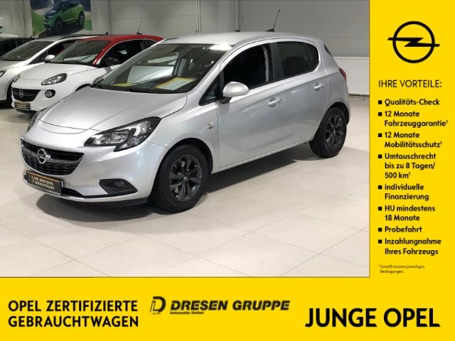 Opel Corsa E 120 Jahre ecoFlex 1.4 Turbo/Rückfahrkam.+SHZ+PDCv+h, Jahr 2019, Benzin