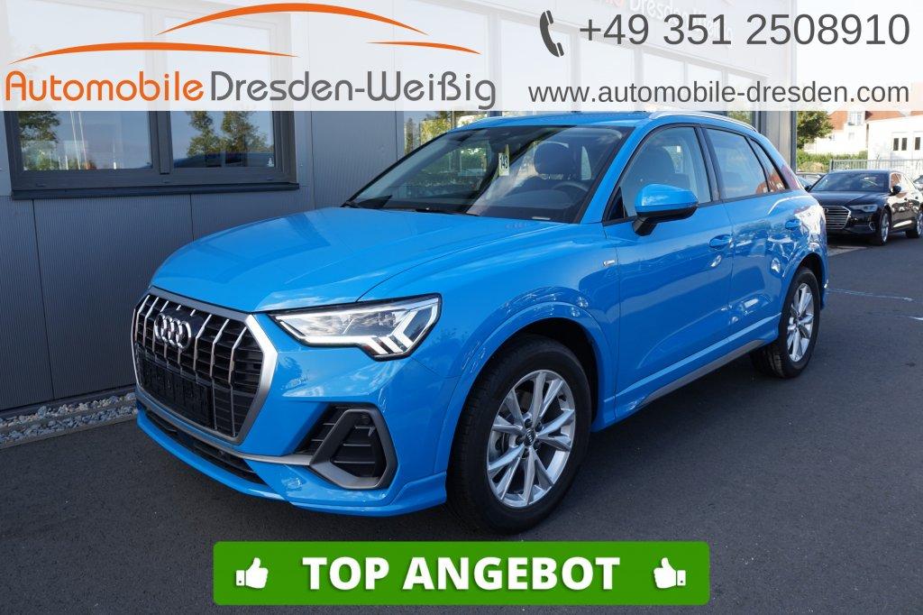 Audi Q3 35 TDI Design S line*Navi*voll LED*DAB*, Jahr 2019, Diesel