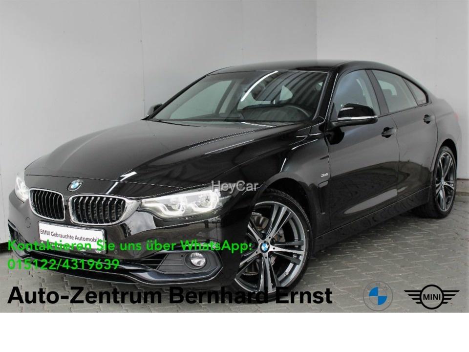 BMW 430d xDrive Gran Coupe Sport Line Aut. Klimaaut., Jahr 2017, Diesel