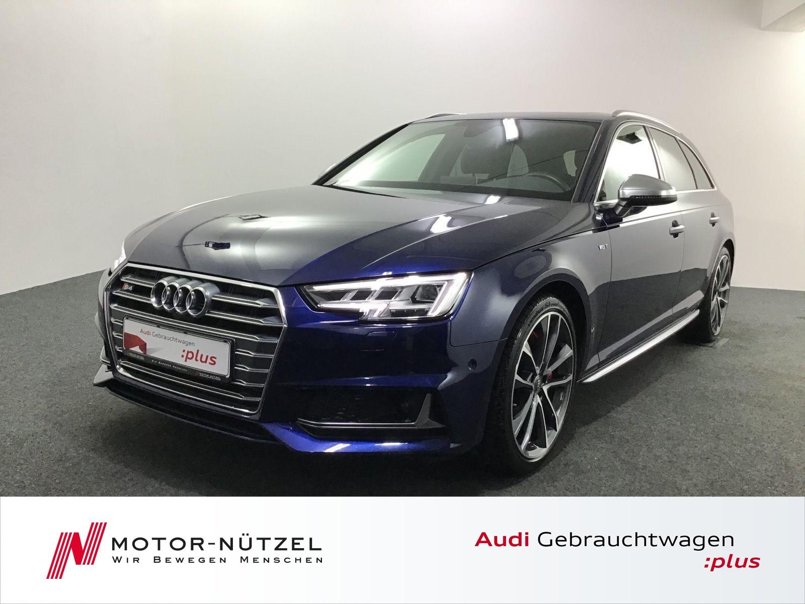 Audi S4 Avant TFSI quattro +AHK+PanoDach+AssistPakete, Jahr 2017, Benzin