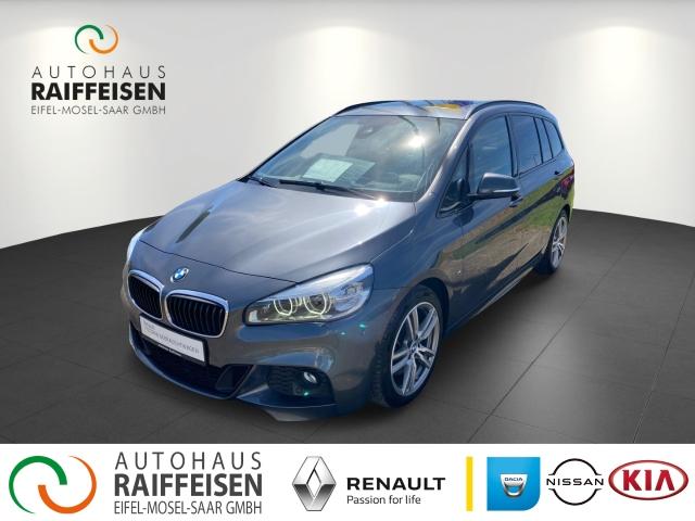 BMW 220 Gran Tourer M Sportpaket Navi Automatik Leder LED AHK-abnehmbar PDCv+h LED-Tagfahrlicht, Jahr 2017, Benzin
