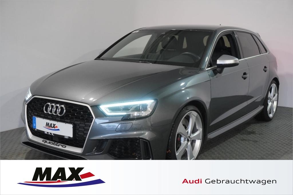Audi RS3 Sportback 2.5 TFSI B&O LED Navi Leder ACC St, Jahr 2018, petrol