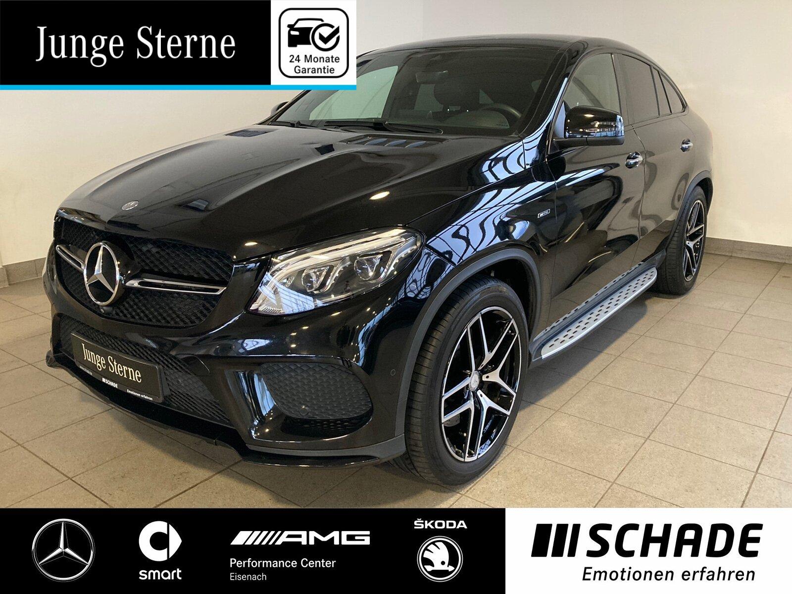 Mercedes-Benz GLE 450 AMG 4M Coupé *LED*Night*Comand*Airmatic*, Jahr 2015, Benzin