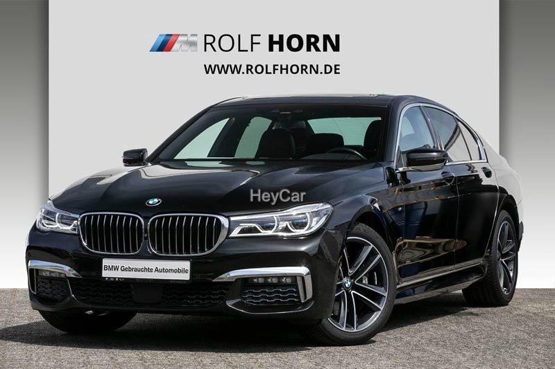 BMW 730d xDrive M Sportpaket Glasdach HUD RKa EURO 6, Jahr 2017, Diesel