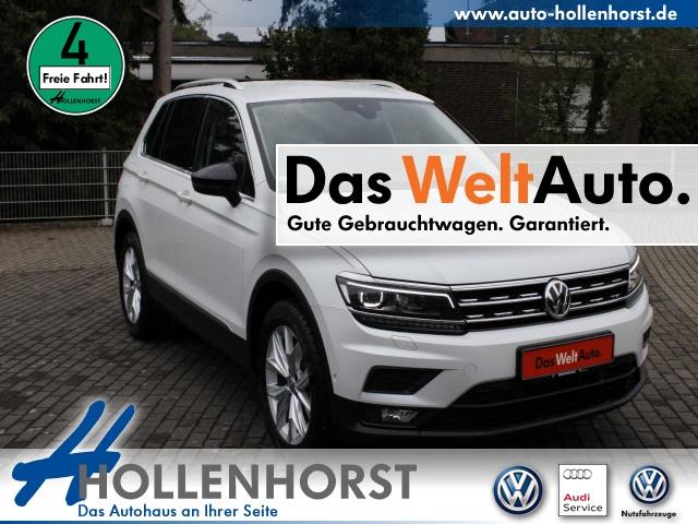 Volkswagen Tiguan 1.5 l act TSI IQ.DRIVE DSG AHK NAVI LED, Jahr 2019, Benzin