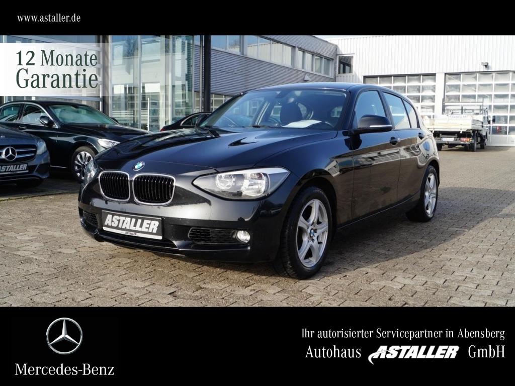 BMW 118i Advantagepaket+Comfortpaket+AHK+Met+PDC, Jahr 2013, Benzin