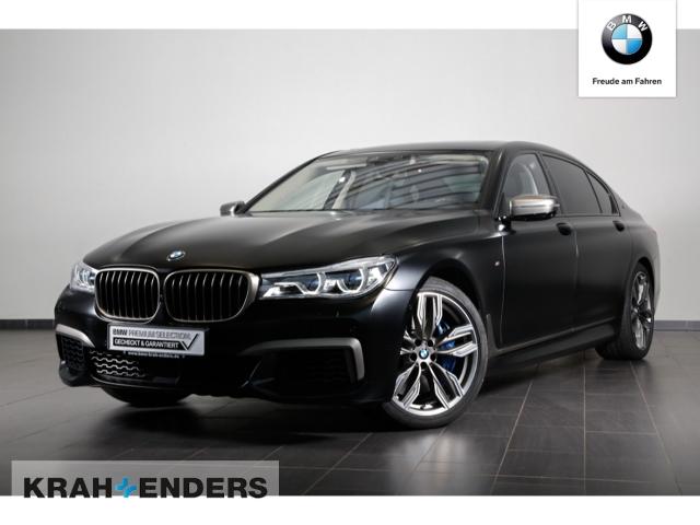 BMW M760 Li xDrive FROZEN BLACK+Sky Lounge+TV+Laser, Jahr 2018, Benzin