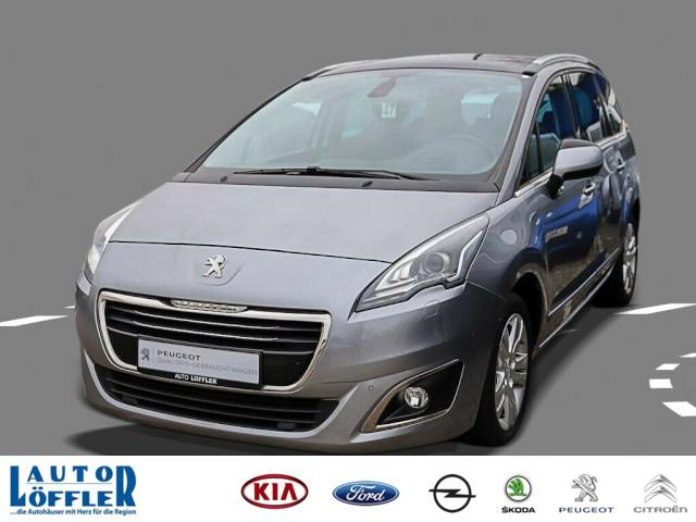 Peugeot 5008 Allure HDI 150 Navi Alu 17&ampquot Sitzhzg Xenon, Jahr 2014, Diesel