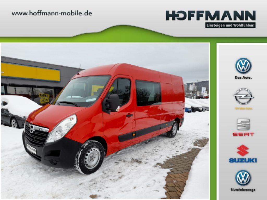 Opel Movano 2.3 D L3H2 DOKA 6sitzer DPF 2WD VA S&S Snoeks, Jahr 2017, Diesel