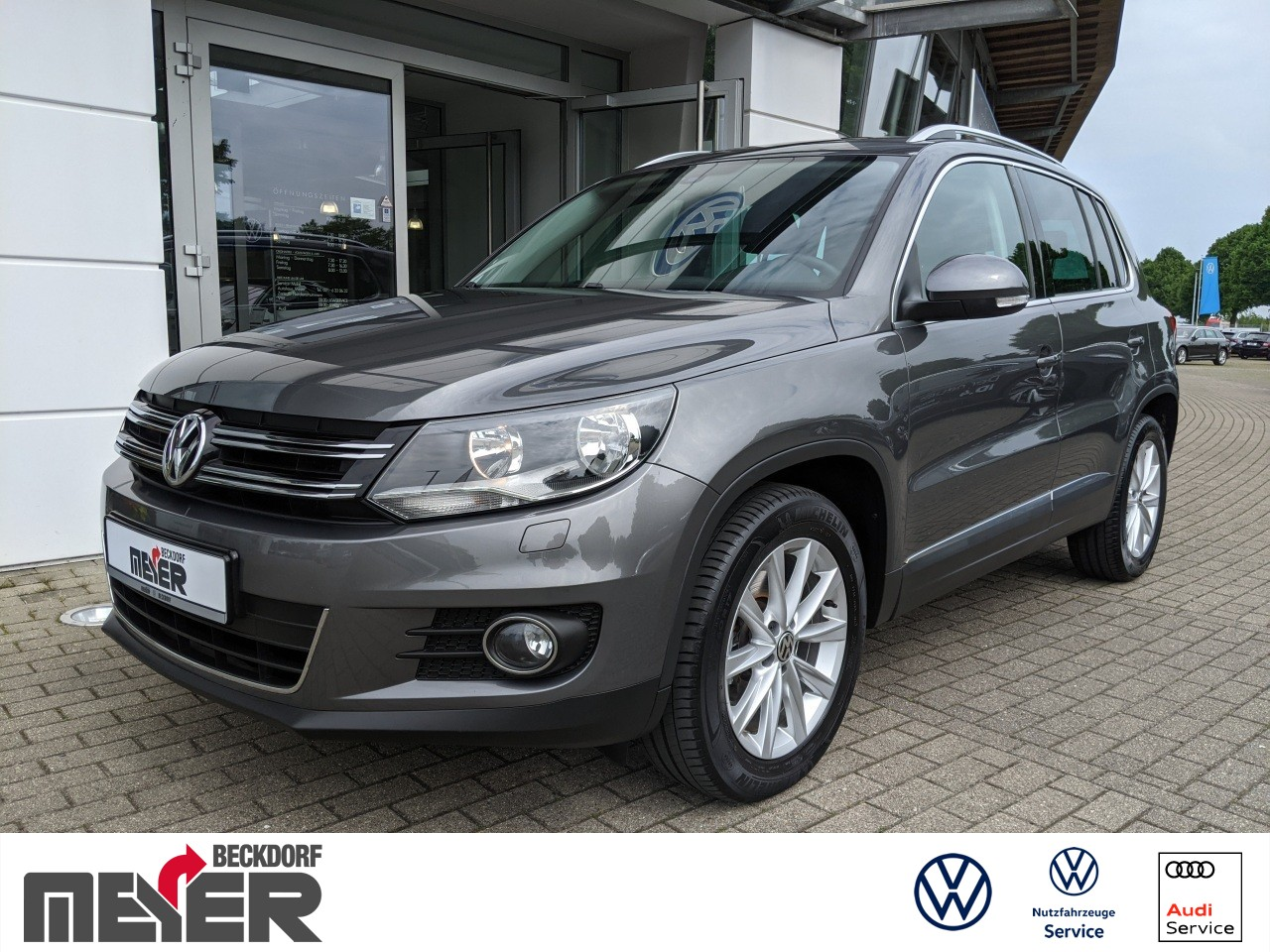 Volkswagen Tiguan Sport & Style 2.0 TDI Klima Navi, Jahr 2014, Diesel