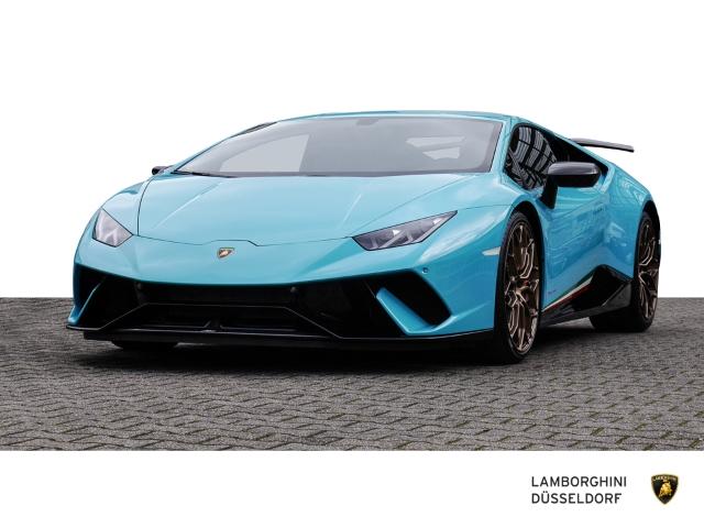 Lamborghini Huracan Performante, Ad Personam Blu Symi, Jahr 2018, Benzin