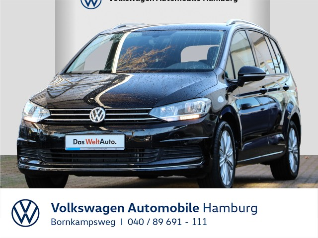 Volkswagen Touran 1,5 TSI UNITED/7SITZ/NAVI/SITZHZG/USB, Jahr 2020, Benzin