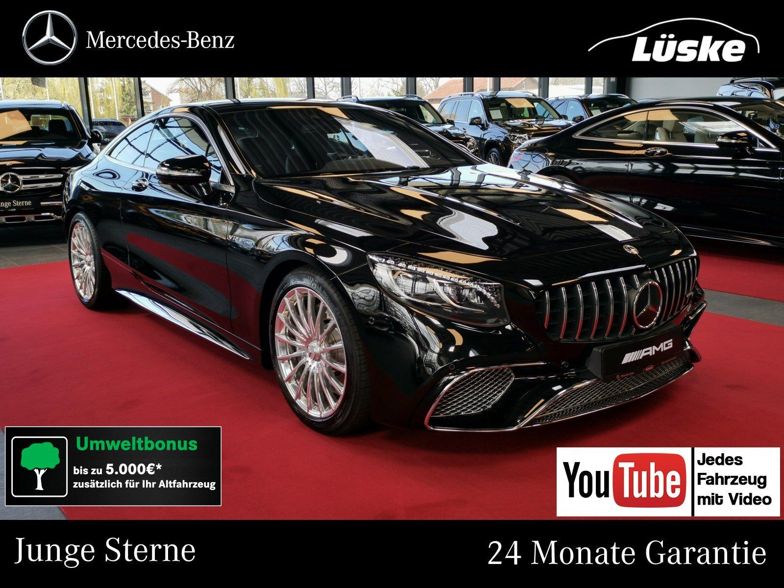 Mercedes-Benz S 65 AMG Coupé MAGIC SKY Swarovski Nachtsicht TV, Jahr 2018, Benzin
