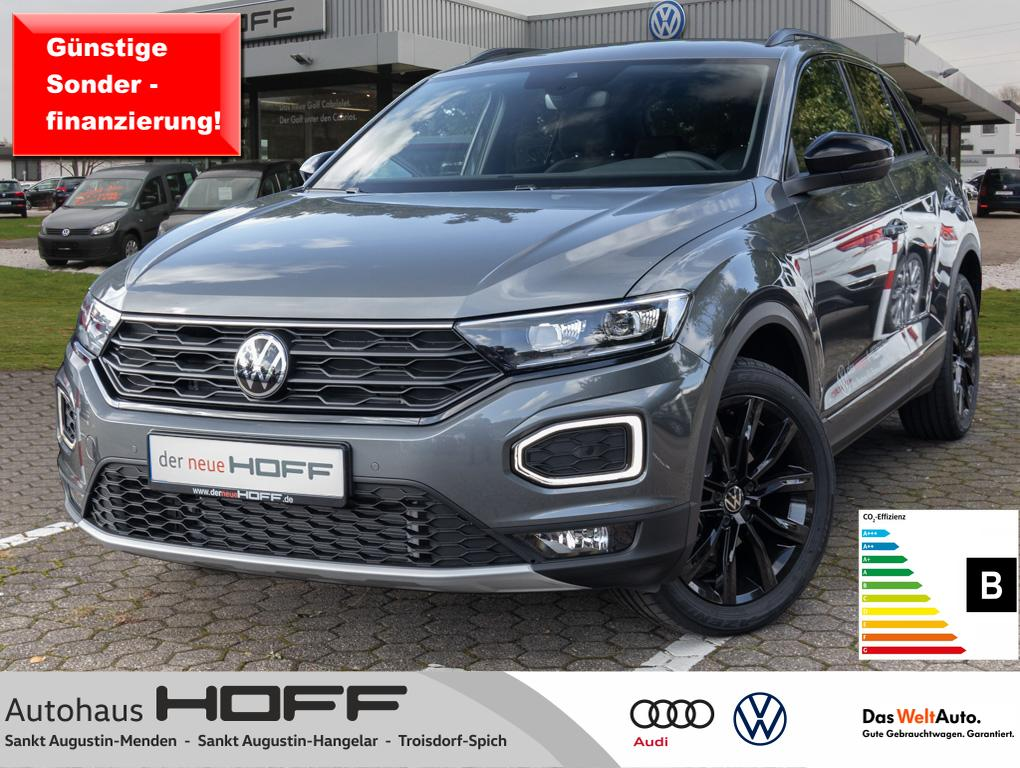 Volkswagen T-Roc 1.5 TSI Sport Navi AHK Black Style Kamera, Jahr 2021, Benzin