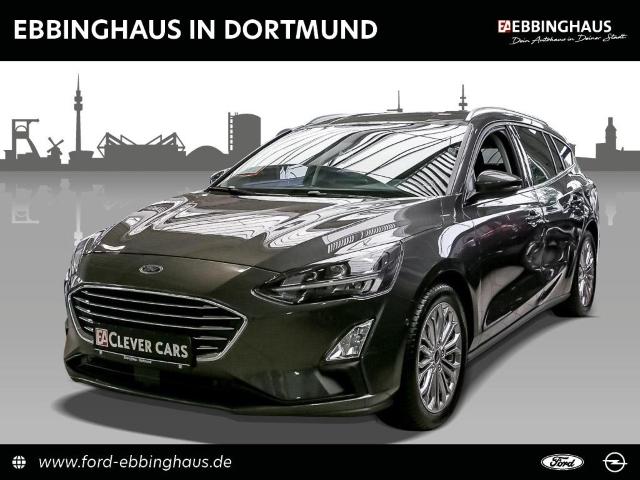 Ford Focus Turnier Titanium LED RFK NAVI DAB PARK-ASS, Jahr 2019, Benzin
