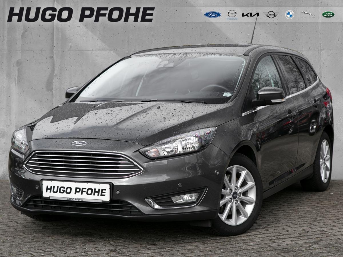 Ford Focus Turnier Titanium 1.5 EcoBoost *AHK *Winter, Jahr 2015, Benzin