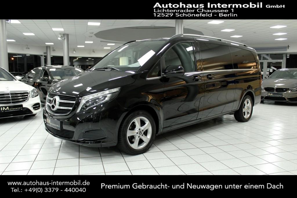 Mercedes-Benz V 220 d AVANTGARDE extralang*8 Sitze*Leder*Navi*, Jahr 2019, Diesel