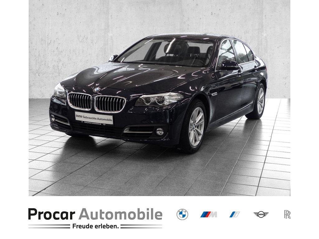 BMW 520i AUTOMAT.+NAVI+HiFi+elek.SITZE+KLIMAAUT.+M-LENKR, Jahr 2015, Benzin