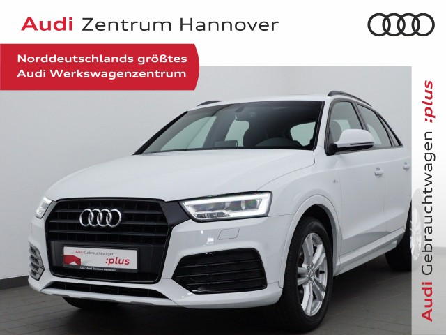 Audi Q3 1.4 TFSI S line Pano BOSE LED Navi Teilleder, Jahr 2018, Benzin