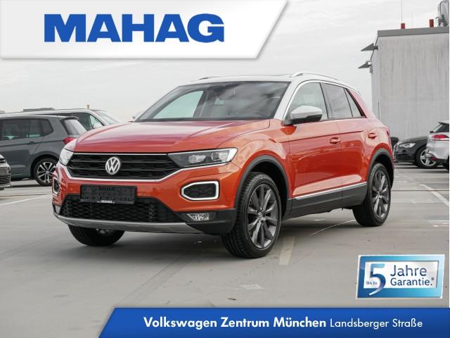 """Volkswagen T-ROC Style 2.0 TDI DSG 4Motion - Anhängevorrichtung - LED-ScheinwerferLED-Scheinwerfer - DAB+ - Panoramadach - Parklenkassistent """"Park Assist"""" inkl. Einparkhilfe T-ROC 4MCLBMT 110TDI D7A, Jahr 2017, diesel"""