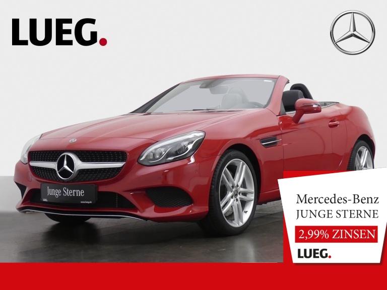 Mercedes-Benz SLC 180 Navi+Pano+LED-ILS+SportP+18+Airsc+ParkAs, Jahr 2019, Benzin
