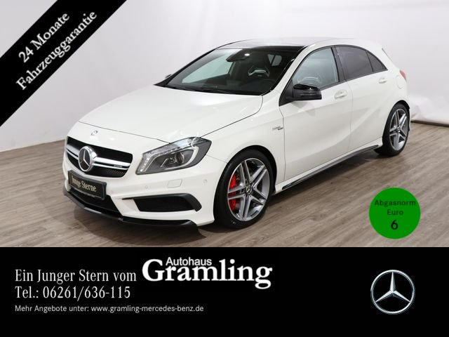 Mercedes-Benz A 45 AMG 4M Performace-Sitze*NIGHT*Pano*Distroni, Jahr 2014, Benzin