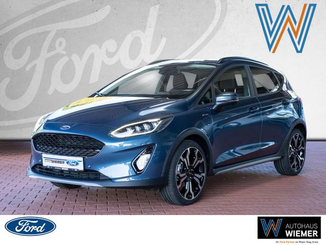 Ford Fiesta 1.0l EcoBoost Hybrid Active X 6-Gang Navi, Jahr 2021, Hybrid