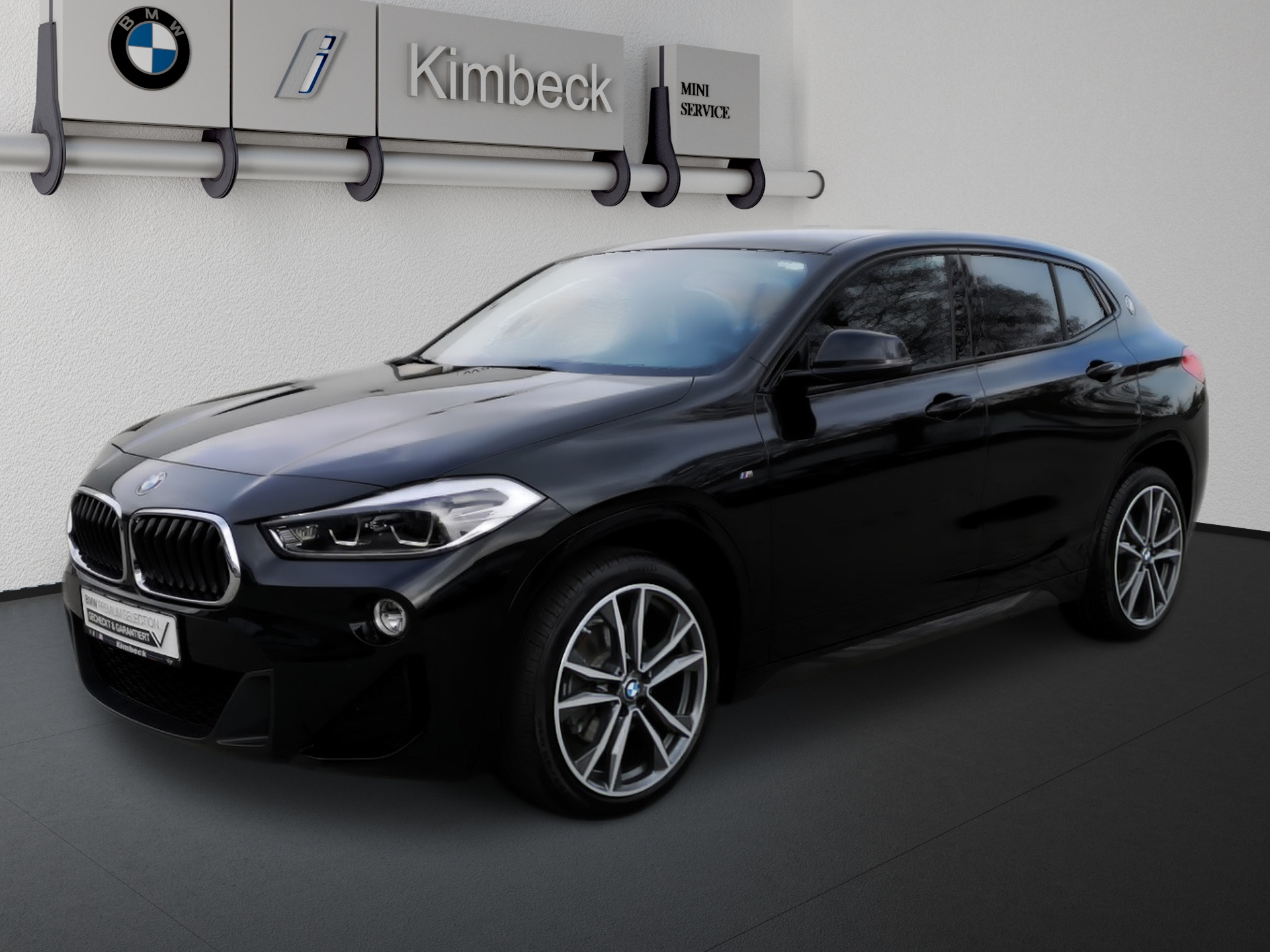 BMW X2 sDrive18d M SPORT Navi LED AHK DrivingAss., Jahr 2019, Diesel