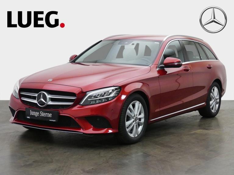 Mercedes-Benz C 200 T Avantgarde+Navi+LED+HP+CarPl+ParkAss+RFK, Jahr 2019, Benzin