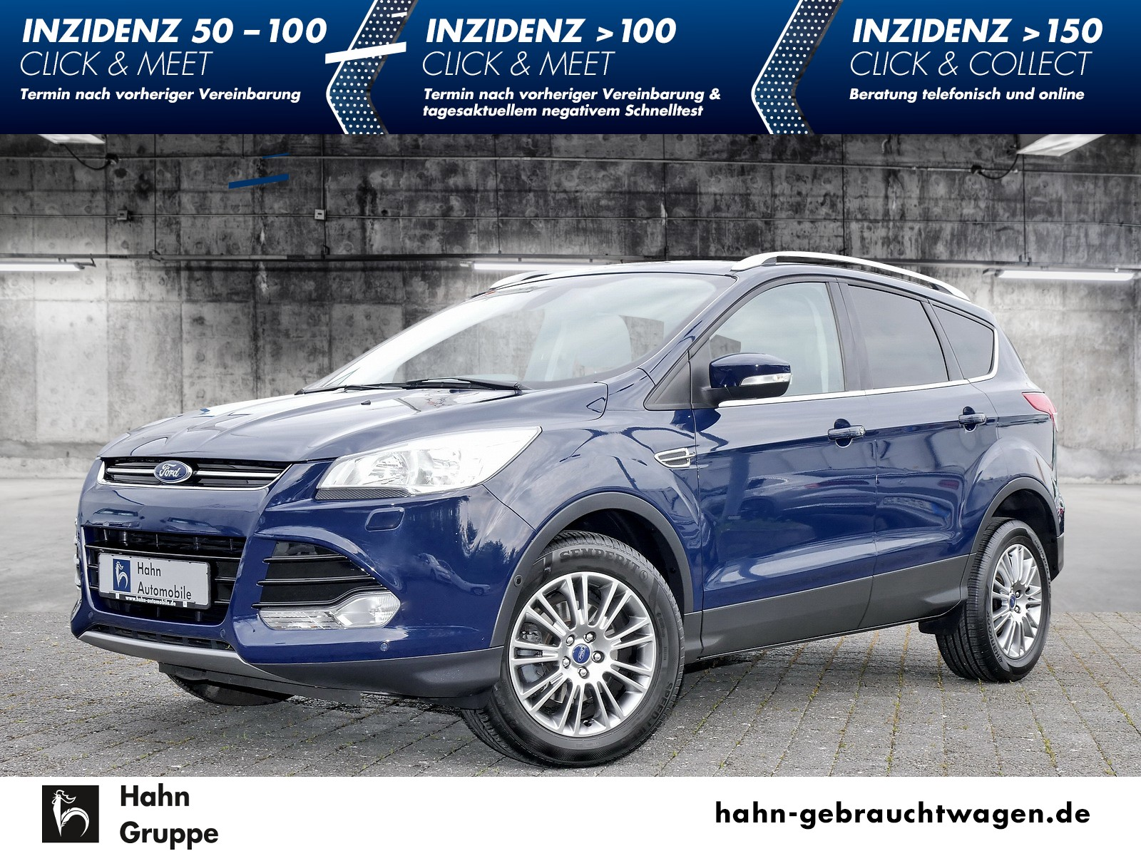 Ford Kuga 1.6 EcoBoost Titanium Bluetooth SHZ PDC, Jahr 2014, Benzin