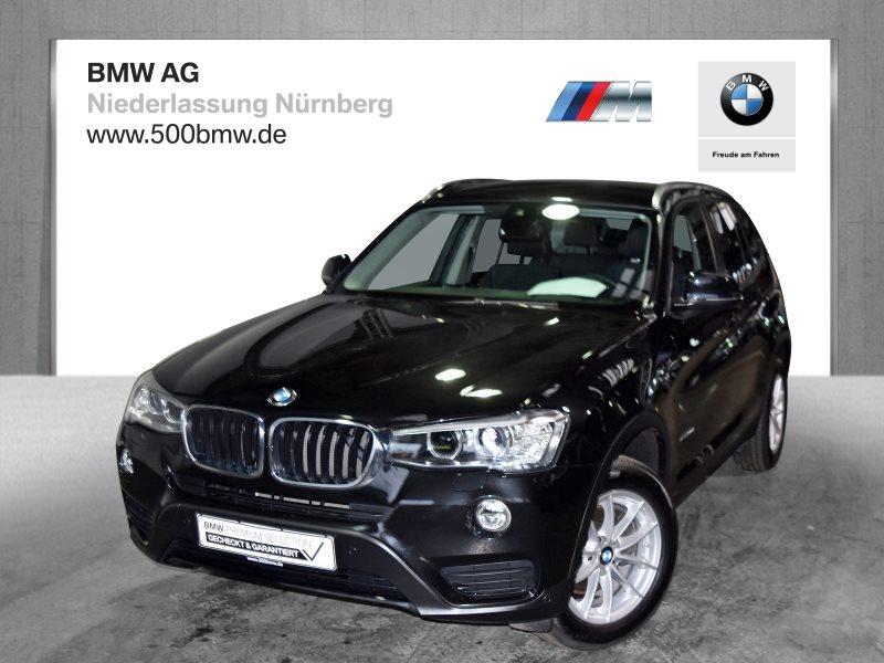 BMW X3 xDrive20d EURO6 Advantage HiFi RFK Navi Bus. Sp.Limit, Jahr 2017, Diesel