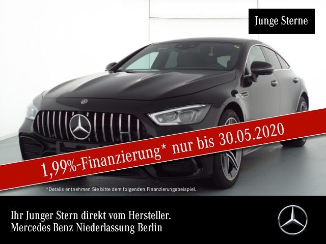 "Mercedes-Benz AMG GT 43 4M + V8-Styling Distr Widescreen 20"", Jahr 2019, petrol"